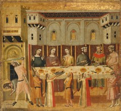 The Feast of Herod and the Beheading of the Baptist, ca. 1330-35. Creator: Giovanni Baronzio.