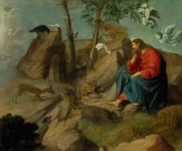Christ in the Wilderness, ca. 1515-20. Creator: Moretto da Brescia.
