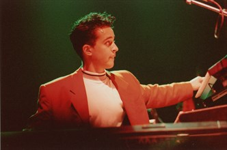 Jason Rebello, Dingwalls, Camden Town, London, 1994. Creator: Brian Foskett.