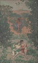 Polyphemus, Acis and Galatea, 1867-1944. Creator: Roussel, Ker-Xavier (1867-1944).