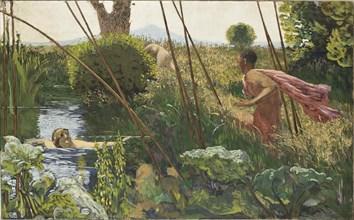 L'Après-Midi d'un faune (The Afternoon of a Faun), c. 1930. Creator: Roussel, Ker-Xavier (1867-1944).