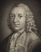 Portrait of the Composer Frantisek Tuma (1704-1774) , 1770. Creator: Balzer, Johann (1738-1799).