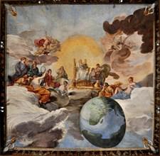 The Triumph of Divine Wisdom, 1629-1631. Creator: Sacchi, Andrea (1599-1661).