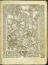 Ars moriendi (The Art of Dying), 1496. Creator: Anonymous.
