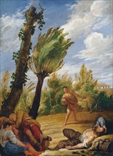 The Parable of the Wheat and the Tares, 1620s. Creator: Fetti, Domenico (1588/90-1623).