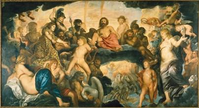 The Council of Gods. Creator: Rubens, Pieter Paul (1577-1640).