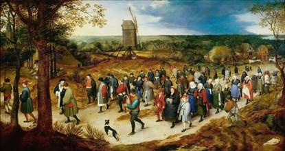 Le Cortège des Noces (The Wedding Cortège). Creator: Brueghel, Jan, the Elder (1568-1625).