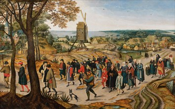 The Wedding Cortège, 1627. Creator: Brueghel, Jan, the Younger (1601-1678).