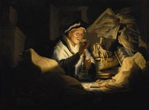 The Parable of the Rich Fool, 1627. Creator: Rembrandt van Rhijn (1606-1669).