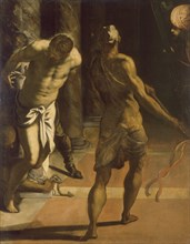 The Flagellation of Christ, 1570s. Creator: Tintoretto, Jacopo (1518-1594).