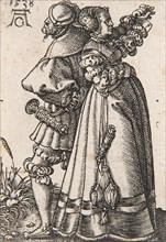 """From the series """"The Small Wedding Dancers"""" , 1538. Creator: Aldegrever, Heinrich (1502-1560)."""