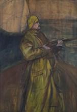 Maurice Joyant (1864-1930), 1900. Creator: Toulouse-Lautrec, Henri, de (1864-1901).