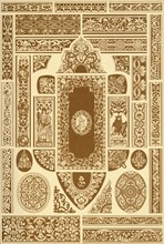 German Renaissance ornaments from book covers, (1898). Creator: Unknown.
