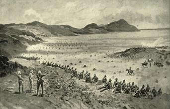 'Colonel Pilcher's Attack on Sunnyside Kopje', 1900.  Creator: HC Seppings Wright.
