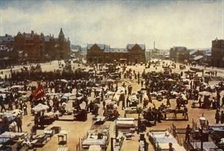 'Market Square, Johannesburg, Transvaal Colony', 1901. Creator: GW Wilson and Company.