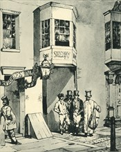 'Inn and Post Office', 1830, (1943). Creator: Eugene Louis Lami.