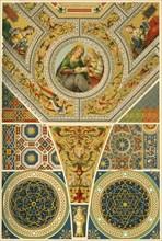Italian Renaissance ceiling painting, (1898). Creator: Unknown.