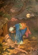 'Matsue rescues Teoyo', 1912. Creator: Evelyn Paul.