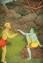 'Rama sending his Signet-ring to Sita', 1920. Creator: Unknown.