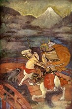 'Totaro and Samébito', 1912. Creator: Evelyn Paul.