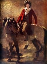 'Henry Raeburn on a Grey Pony', c1796, (1924). Creator: Unknown.