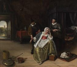 The Lovesick Maiden, ca. 1660. Creator: Jan Steen.