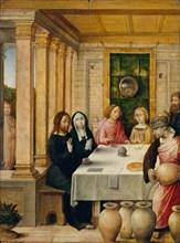 The Marriage Feast at Cana, ca. 1500-1504. Creator: Juan de Flandes, the Elder.