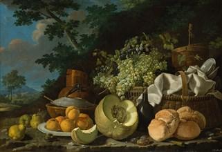 The Afternoon Meal (La Merienda), ca. 1772. Creator: Luis Meléndez.