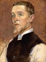 Albert (René) Grenier (1858-1925), 1887. Creator: Henri de Toulouse-Lautrec.