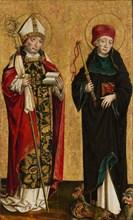 Saint Adalbert and Saint Procopius, ca. 1490-1500. Creator: Master of Eggenburg.