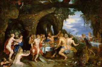The Feast of Acheloüs, ca. 1615. Creators: Peter Paul Rubens, Jan Brueghel the younger.