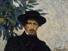Self-Portrait, 1905. Creator: Umberto Boccioni.