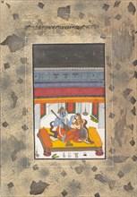 "Puriya Ragaputra: Page from the Dispersed ""Boston"" Ragamala Series..., ca. 1760. Creator: Unknown."