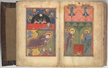 Four Gospels in Armenian, 1434/35. Creator: Unknown.