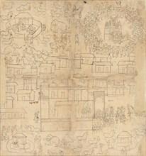 Cityscape, 18th-19th century. Creator: Unknown.