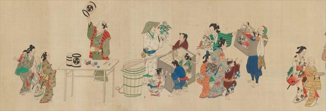 Festival Scenes, 18th century. Creator: Unknown.