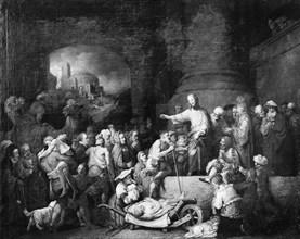 Christ Healing the Sick, 1742. Creator: Christian Wilhelm Ernst Dietrich.