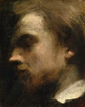 Self-Portrait, ca. 1858. Creator: Henri Fantin-Latour.