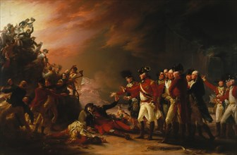 The Sortie Made by the Garrison of Gibraltar, 1789. Creator: John Trumbull.