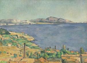 The Gulf of Marseilles Seen from L'Estaque, ca. 1885. Creator: Paul Cezanne.