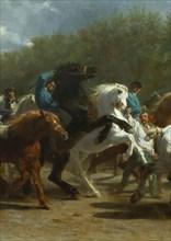 The Horse Fair, 1852-55. Creator: Rosa Bonheur.