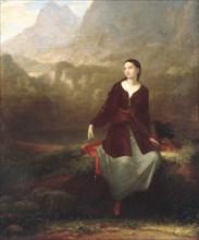 The Spanish Girl in Reverie, 1831. Creator: Washington Allston.