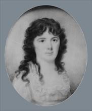 Mrs. John Nightingale (Martha Washington Greene), ca. 1797. Creator: Edward Greene Malbone.