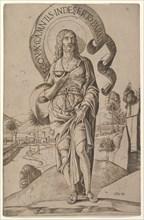 Saint John the Baptist, 1500-1506. Creator: Girolamo Mocetto.