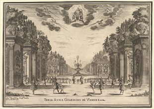 Third scene, the garden of Venus, from 'The marriage of the gods'
