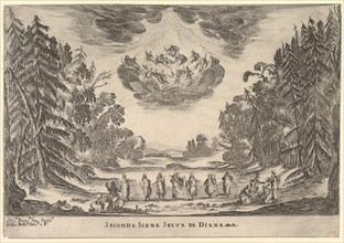 Second Scene, in Diana's forest, from 'The marriage of the gods'