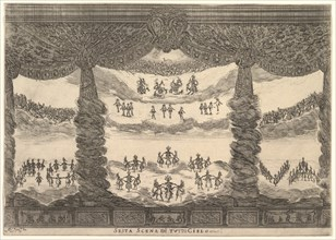 Sixth scene, the heavens, from 'The marriage of the gods'