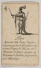 Libye, 1644. Creator: Stefano della Bella.
