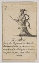 Zanzibar, 1644. Creator: Stefano della Bella.