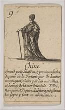 Chine, 1644. Creator: Stefano della Bella.